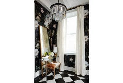 Elegant floral wallpaper wallpaper