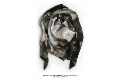 Floral Silk Scarve