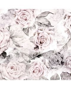 Rose Decay wallpaper by designer Ellie Cashman